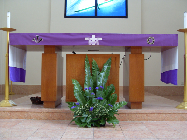 Lenten Flower Arrangements
